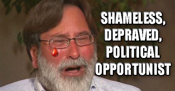 Richard Martinez Is a Shameless Depraved Political Opportunist