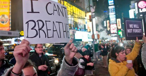 Protests over Michael Brown, Tamir Rice, and Eric Garner