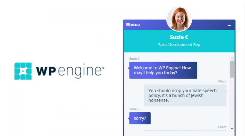 Chatting with WPEngine Support